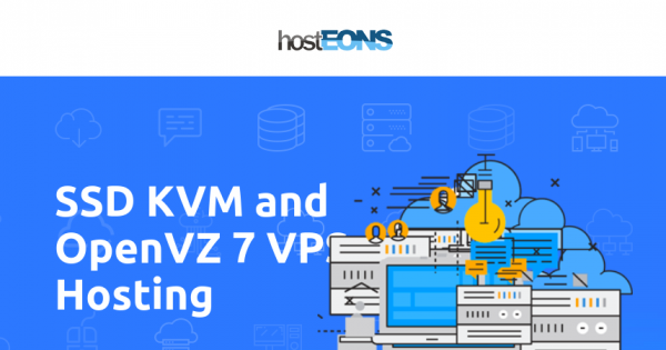 hostEONS - Up to 50% OFF on KVM & OpenVZ VPS - Free Direct Admin