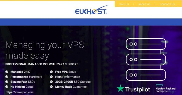 eUKhost – Managed VPS Hosting from $12/month – Hot deals today GET 50% OFF!