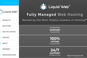 [Spooky Sale] Liquid Web – Save 40% on All Hosting Plans