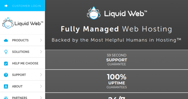 [Spooky Sale] Liquid Web – Save 40% on All Hosting Plans