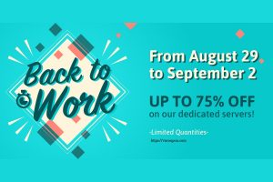 [Back To Work] Online.net Server Specials Offer – Up to 75% off Dedicated Server until September, 2!