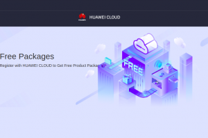 Huawei Cloud – Free Cloud Server for first year