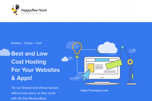 HappyBee Host – OpenVZ & KVM VPS starting at $1.5/month