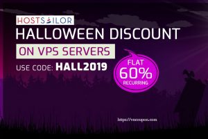 [Halloween 2019] HostSailor Crazy Deals – Coupons & Promo Codes in 2019 – 60% off on all servers, SSD hosting, VPS