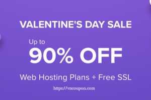[Valentine's Day 2020] Hostinger – 90% OFF Web Hosting only $0.80/month + Free Domain