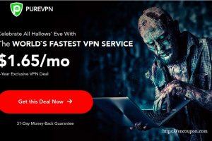 [Halloween 2019] PureVPN – Get 85% off on 5-year plan