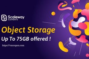Scaleway Object Storage – The First 75 GB Storage are offered! afterward it is only €0.01GB/month