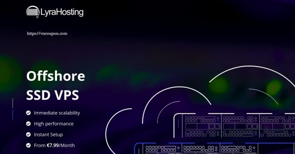 LyraHosting – 50% life time discount on KVM SSD VPS from €3.99/month – Offshore VPS
