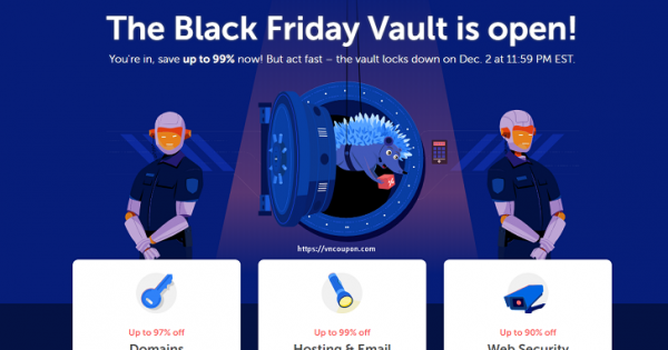 [Black Friday 2019] Namecheap – Save up to 99%