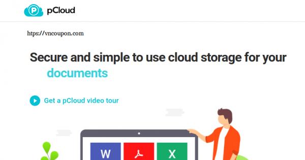 [Singles Day 11.11] pCloud – 75% Off Premium Cloud Storage Plan