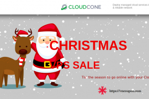 [Xmas 2019] CloudCone Hourly Billed KVM Offers – Semi-Managed Cloud Servers from $20/Year