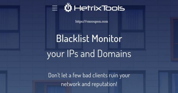 HetrixTools Black Friday 2020 Discounts – Up to 80% OFF Monitoring Services