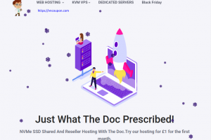 [New Year 2020] HostDoc – Special VPS  Offers From £10/year