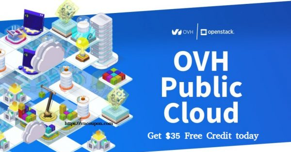 OVHCloud – Get $35 Free Credit on Public Cloud
