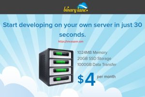 BinaryLane – Australian KVM VPS service from AU$4/month
