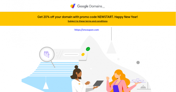 Google Domains – 20% OFF for New Domain Registration