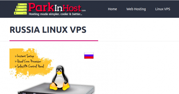 [New Year 2020] Parkinhost – 50% OFF  Unmetered Russia VPS only $64.96/Year