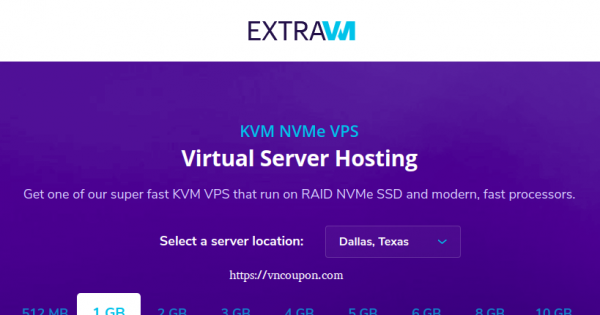 ExtraVM – Ryzen KVM VPS from $5/month in Moscow, Russia