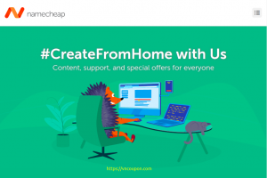 [#CreateFromHome] Namecheap – Save 98% OFF Domain (.COM only $5.88/yr)- 99% OFF Hosting