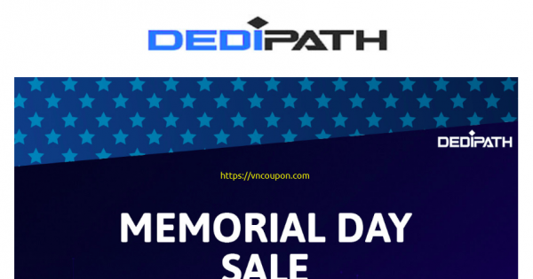 [Summer Sale] DediPath – Last Chance To Save Big – 50% Off Recurring On All Services
