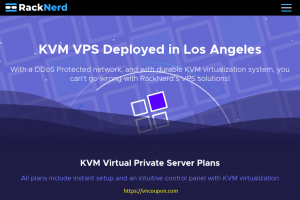 [Flash Sale] RackNerd – Special KVM VPS from $19.50/Year in Los Angeles (Asia Optimized + DDoS Protection)