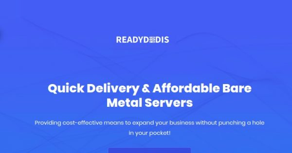 ReadyDedis – Affordable Cloud VPS from $4/month