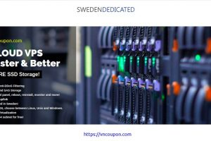 Sweden Dedicated – Promo KVM VPS only €2.5/month! Stockholm Location