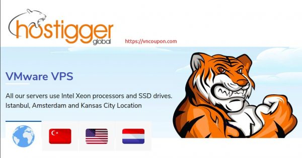 Hostigger – VMWare VPS Limited Offers! 2 CPU, 6GB RAM, 50GB SSD – $59,99/year