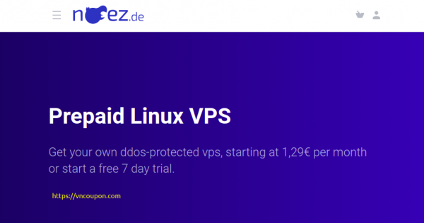 noez.de – Special KVM/LXC VPS from €3.50/month hosted in Frankfurt/Germany