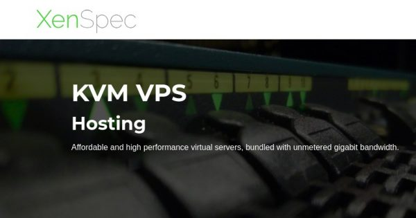 XenSpec – Special KVM VPS from $2.15/month in Chicago and Los Angeles