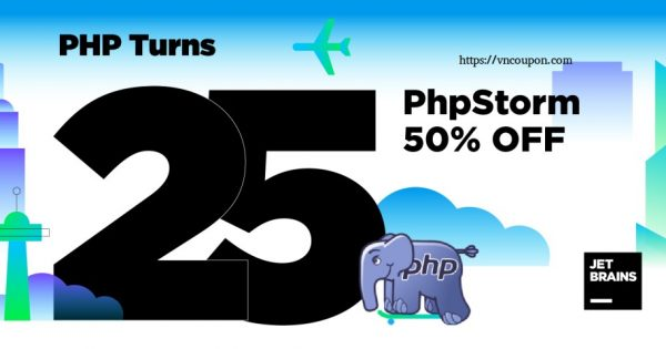 [Happy birthday PHP] PhpStorm is 50% OFF for the next 50 hours