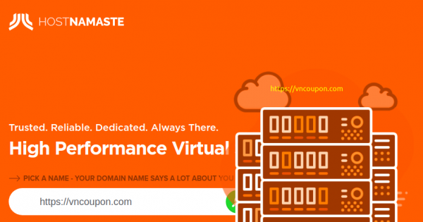 HostNamaste – OpenVZ VPS Special from $20/year