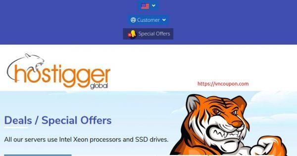 Hostigger – Summer VPS Offers! x2 CPU, x2 RAM, x2 SSD