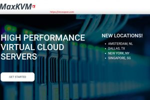 MaxKVM – Yearly Special KVM VPS Promotions from $29 Per Year – NVMe SSD Storage