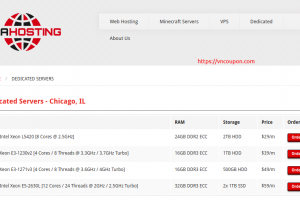 TNAHosting – Dedicated Servers offers from $24/month