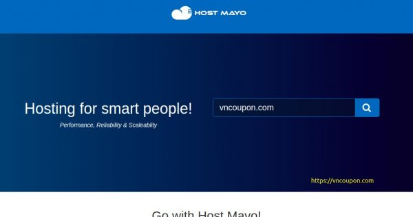 Host Mayo – 50% Off SSD KVM VPS from $2.5/month