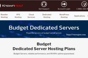 KnownHost Budget Dedicated from $41.65/month (32G RAM) – Free DirectAdmin