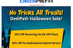 [Halloween 2021] DediPath – 50% Off Recurring VPS and Hybrid Servers in 10 Locations
