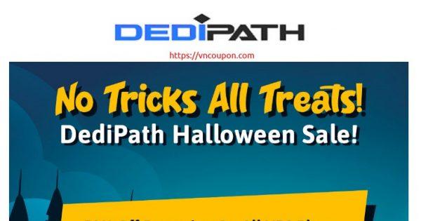 [Halloween 2020] DediPath – 50% Off VPS & 40% Off Dedicated