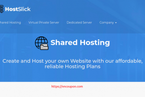 HostSlick –  50% Off on all Shared Hosting plans from €7.5/Year