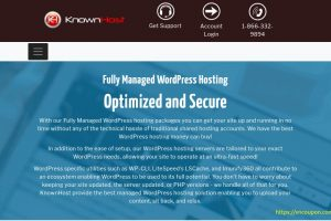 KnownHost – 50% OFF Fully Managed WordPress Hosting