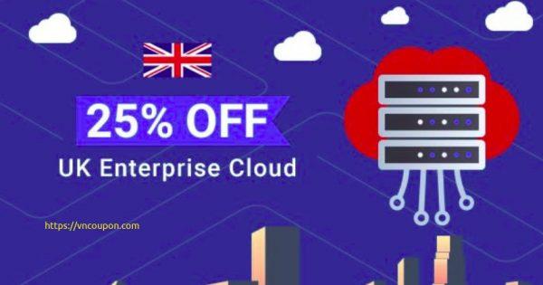 WHUK – 25% OFF UK Enterprise Cloud Servers