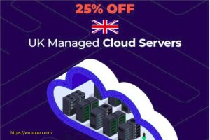 eUKhost – 25% OFF UK Managed Cloud Servers