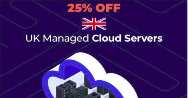 eUKhost – 25% OFF UK Managed Cloud Servers