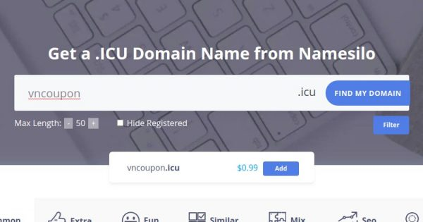 [Black Friday 2020] NameSilo start on Black Friday deals! .COM First year registration only $0.99 – Transfer your .COM domains to NameSilo for $7.99