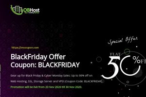 [Black Friday 2020] OBHost – Flat 50% off on Web Hosting, SSL & VPS!
