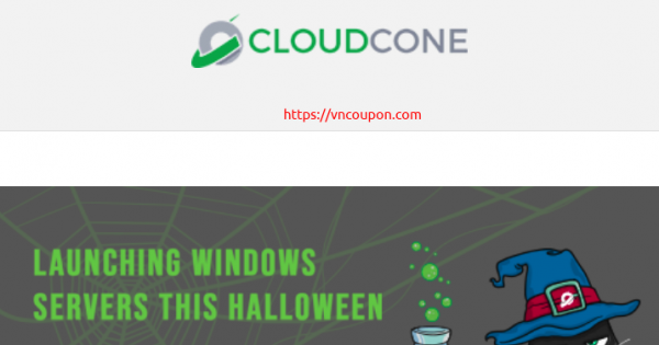 CloudCone – Exclusive Windows Cloud Servers Offers – 20% OFF in the first month!
