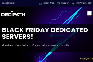 [Black Friday 2020] DediPath – 512MB VPS for $10/year – Some amazing dedi offers