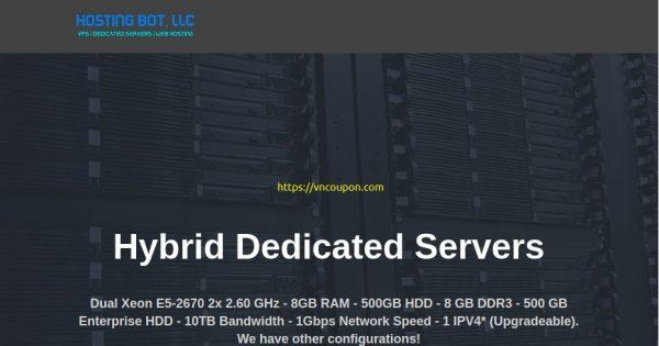 [Pre-Black Friday 2020] Hosting Bot – 35% OFF Recurring  KVM VPS in Los Angeles – 10Gbps Network Port