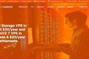 HostNamaste Deals – KVM Storage VPS US from $30/year and OpenVZ 7 VPS from $20/year!